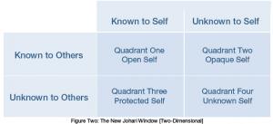 Johari Window - Figure 2