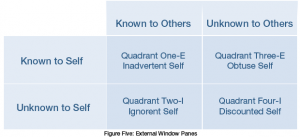 Johari Window - Figure 5